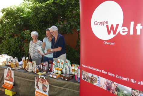 GruppeWelt am Pfarreifest 2019