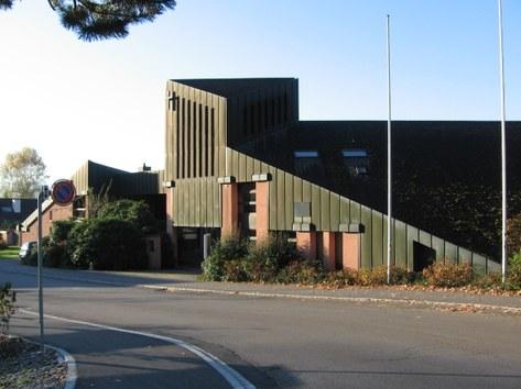 Modernes Pfarreizentrum