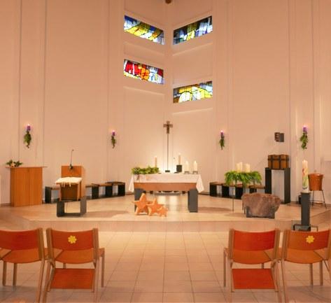 Kirche im Advent