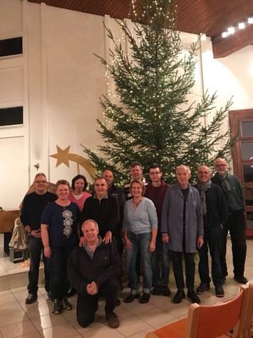 Der Gruppe Hausdienste auch ein grosses Dankeschön für den Aufbau der Krippe und des Baumes!