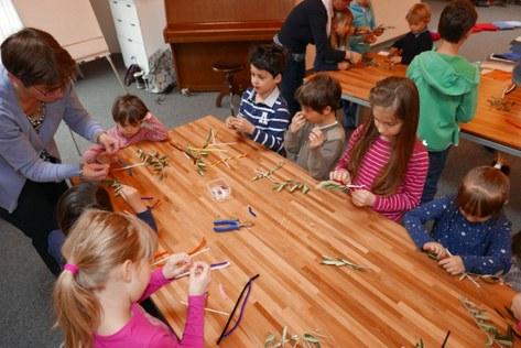 Palmsonntag Kindergottesdienst