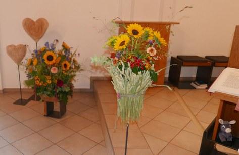 Dekoration der Blumengruppe