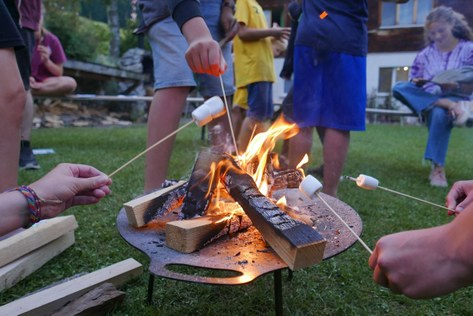 Lagerfeuer-Abend