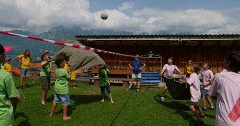Olympiade: Blachenvolleyball
